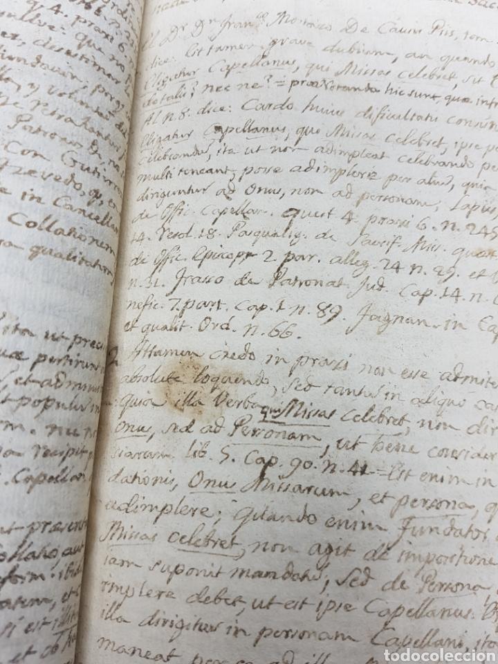 Manuscritos antiguos: s.XVIII - 1760, MONOVAR, ALICANTE, INTERESANTE DOCUMENTO, CAPELLANIA FUNDADA POR JOSEPH RICO - Foto 2 - 113444054