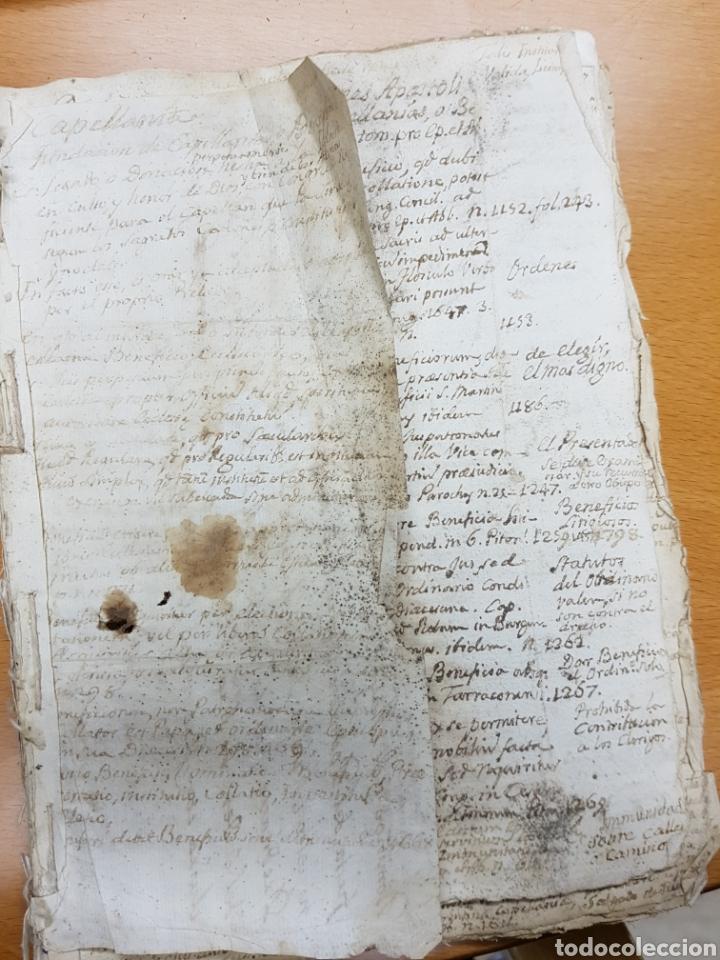 Manuscritos antiguos: s.XVIII - 1760, MONOVAR, ALICANTE, INTERESANTE DOCUMENTO, CAPELLANIA FUNDADA POR JOSEPH RICO - Foto 5 - 113444054
