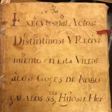 Alte Manuskripte - I CONDE DE LA CADENA. documentos de D. Bartolomé de Flon y Morales, Guerra de Sucesión. S. XVIII - 113511131