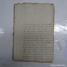 Manuscritos antiguos: MANUSCRITO S. XVI-XVII. 1550-CONJUNTO DE ESCRITURAS EN LA CIUDAD DE ECIJA (SEVILLA), MAS DE 40 HOJAS. Lote 113698215