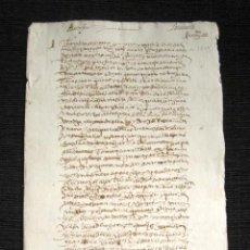 Manuscritos antiguos: AÑO 1619. DOCUMENTO MANUSCRITO ORIGINAL SIGLO XVII. ESPAÑA.. Lote 113963859