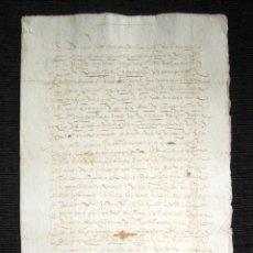 Manuscritos antiguos: AÑO 1628. DOCUMENTO MANUSCRITO ORIGINAL SIGLO XVII. ESPAÑA.. Lote 113963959