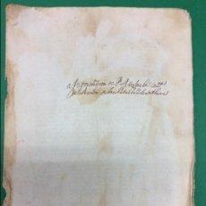 Manuscritos antiguos: DOCUMENTO FACSÍMIL PERGAMINO DEL AYUNTAMIENTO DE SALAMANCA. Lote 113988843