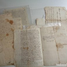 Manuscritos antiguos: DIECINUEVE DOCUMENTOS MANUSCRITOS GIRONA Y FIGUERES. XVII AL XIX.-788. Lote 114312963