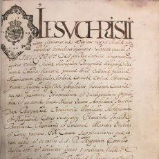 Manuscritos antiguos: FELIPE IV. 1639. SENTENCIA PLEITO ENTRE CASTELLÓN DE LA PLANA Y ALMAZORA SOBRE USOS DE LAS AGUAS. Lote 115069603