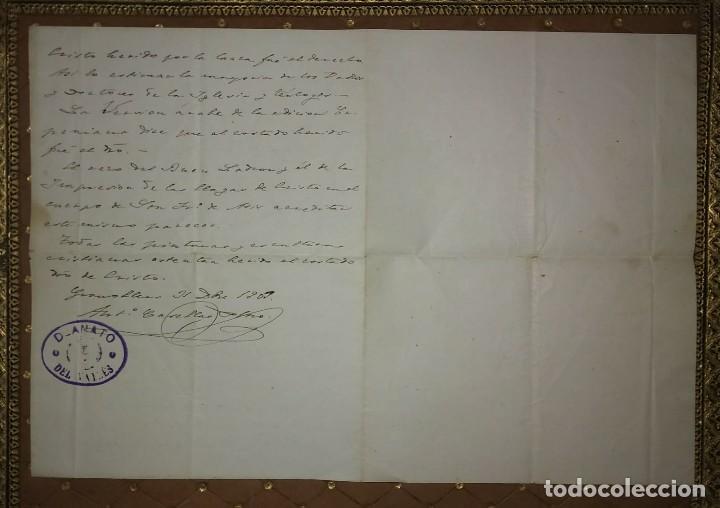 Manuscritos antiguos: 1907 Manuscrito. Deanato del Valles. Granollers - Foto 5 - 115095055