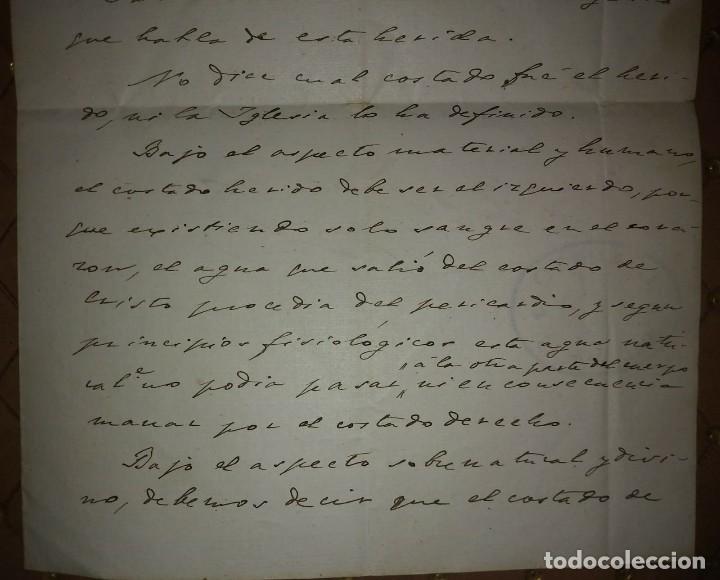 Manuscritos antiguos: 1907 Manuscrito. Deanato del Valles. Granollers - Foto 7 - 115095055