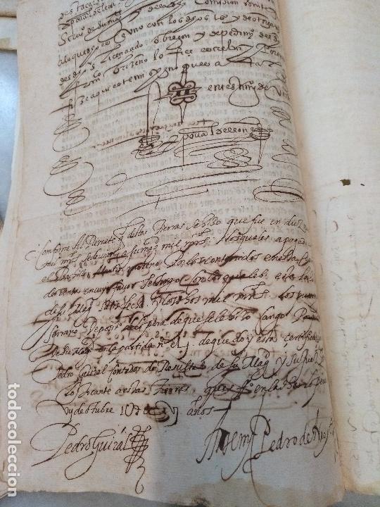 Manuscritos antiguos: ANDALUCIA. IMPRESO Y MANUSCRITO DEL SIGLO XVI. VENTA REAL DE FELIPE II Y SECRETARÍO JUAN DE ESCOBEDO - Foto 4 - 115287327