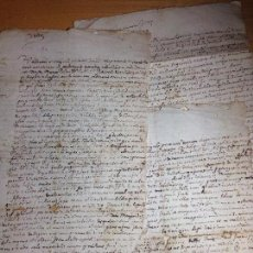 Manuscritos antiguos: MANUSCRITOS EN LATIN . Lote 115343159