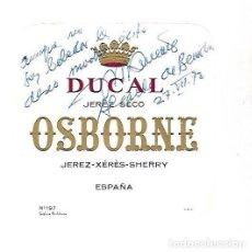 Manuscritos antiguos: SIGNED. FIRMA. JOSE REVERTE COMA. ALCALDE DE BENIDORM. Lote 115687643