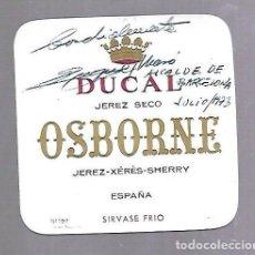 Manuscritos antiguos: SIGNED. FIRMA. ENRIQUE MASO VAZQUEZ. ALCALDE DE BARCELONA. Lote 115778043