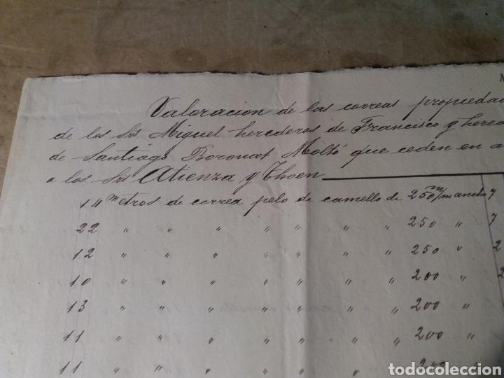 Manuscritos antiguos: Papel de fumar Atienza y Thoen , varios documentos y foto. - Foto 5 - 116202106