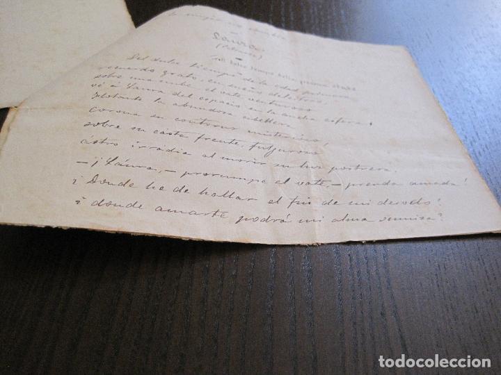 Manuscritos antiguos: ANTONIO ZOZAYA -MANUSCRITO ORIGINAL FIRMADO-LAS MUJERES DEL ARTE- LA FORNARINA.-VER FOTOS-(V-14.059) - Foto 14 - 116473547