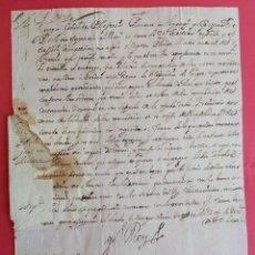 Manuscritos antiguos: 1660 * CARTA DE FELIPE IV A VIRREY MALLORCA SOBRE MERCADERÍAS PROCEDENTES DE ALEJANDRÍA EN EGIPTO. Lote 116534827