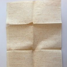 Manuscritos antiguos: AÑO 1590 * PERGAMINO * PALMA MALLORCA * VENTA DE CENSALES DE LA UNIVERSITAT * FUSTER MOIX SANTACILIA. Lote 116674063