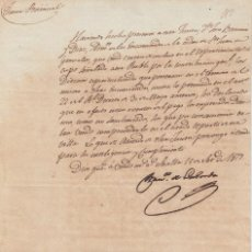 Manuscritos antiguos: DOS DOCUMENTOS ORDEN DE SAN JUAN DE JERUSALEN FIRMA FRANCISCO LABORDA SEVILLA TOCINA 1817. Lote 116752675
