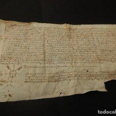 Manuscritos antiguos: DOCUMENTO MALLORQUÍN MANUSCRITO EN PERGAMINO. 1523. MALLORCA.. Lote 117178535