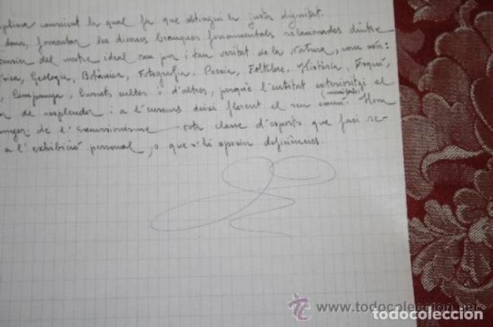 Manuscritos antiguos: INTERESANTE LOTE DE MANUSCRITOS ORIGINALES DE PERE ELIAS I BUSQUETA - AÑOS 34, 35 Y 36 - FIRMADOS - Foto 68 - 35687475