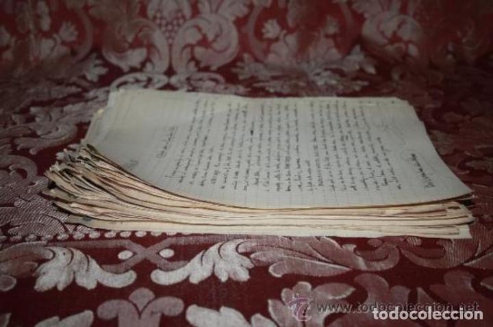 Manuscritos antiguos: INTERESANTE LOTE DE MANUSCRITOS ORIGINALES DE PERE ELIAS I BUSQUETA - AÑOS 34, 35 Y 36 - FIRMADOS - Foto 100 - 35687475