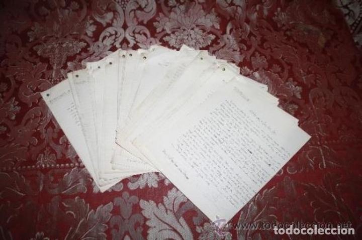 Manuscritos antiguos: INTERESANTE LOTE DE MANUSCRITOS ORIGINALES DE PERE ELIAS I BUSQUETA - AÑOS 34, 35 Y 36 - FIRMADOS - Foto 101 - 35687475