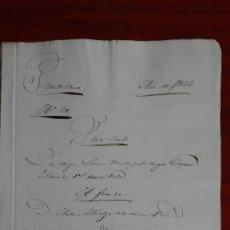 Manuscritos antiguos: PAPEL TIMBRADO SELLO DE OFICIO MANUSCRITO DE 1846 DE UNA COMPRAVENTA EN FUENTESAUCO, ZAMORA. Lote 118817671