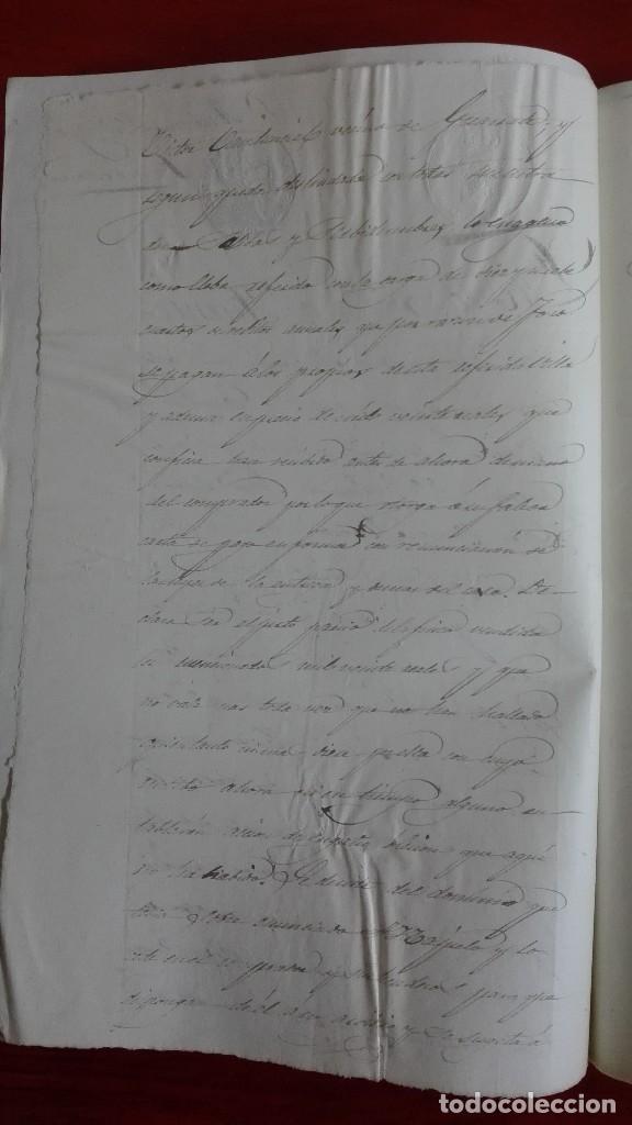 Manuscritos antiguos: MANUSCRITO DE DOCUMENTO NOTARIAL DE UN TESTAMENTO EN FUENTESAUCO ZAMORA 1852 - Foto 3 - 118825059
