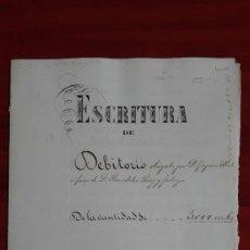 Manuscritos antiguos: PAPEL TIMBRADO SELLO DE OFICIO 9° DE 20 CTS. DE E° BARCELONA . Lote 118828071