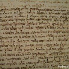 Manuscritos antiguos: COPIA SIMPLE CENSO PERPETUO BURGOS 1520. PRECIOSA Y CLARA CALIGRAFÍA-. Lote 118926815