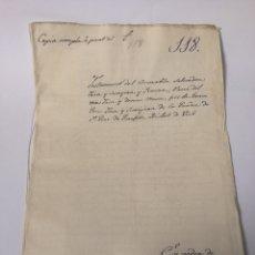 Manuscritos antiguos: TESTAMENTO MANUSCRITO AÑO 1681. CIUDAD DE VICH. VIC.. Lote 119523922