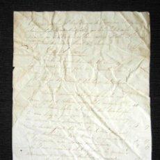Manuscritos antiguos: AÑO 1831. SANTOÑA, LAREDO. REAL CUERPO INGENIEROS. REGIMIENTO LAREDO. EDIFICIOS. FIRMA CORONEL. Lote 120336531
