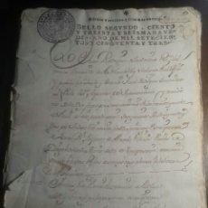 Manuscritos antiguos: VALLADOLID. LA NAVA DEL REY. 1753. Lote 120978868