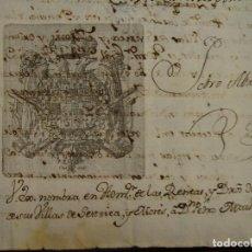 Manuscritos antiguos: 1781. FIRMA CONDESA DE ARANDA. NOMBRAMIENTO DE ADMINISTRADOR DE LAS VILLAS SESTRICA Y MORÉS. Lote 121046671