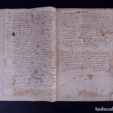 Manuscritos antiguos: ESCRITURA DE PODER, ARENILLAS DE SAN PELAYO 1614. Lote 121605595