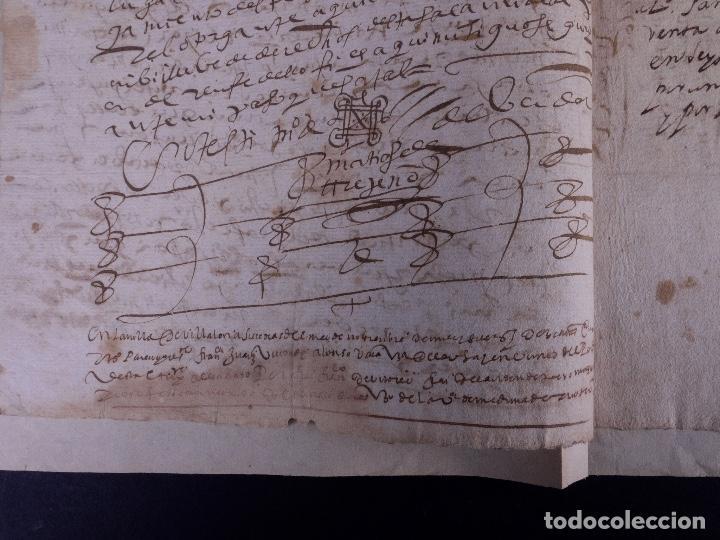 Manuscritos antiguos: ESCRITURA DE PODER, ARENILLAS DE SAN PELAYO 1614 - Foto 4 - 121605595