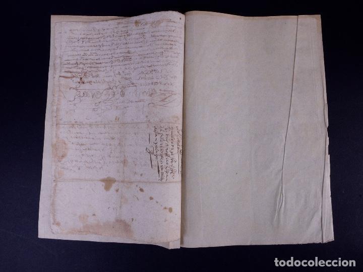 Manuscritos antiguos: ESCRITURA DE PODER, ARENILLAS DE SAN PELAYO 1614 - Foto 5 - 121605595