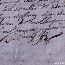 Manuscritos antiguos: PROVANZA DE PARENTESCO DE LOS BLANCA CON LOS FRONTINES, ZARAGOZA 1704. Lote 121606483