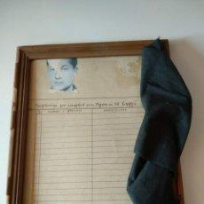 Manuscritos antiguos: RARISIMO PAPEL MARCO FALANGISTA FRENTE SON CARRIO MALLORCA RECORTE PRIMO RIVERA PAÑUELO NEGRO GUERRA. Lote 123341967