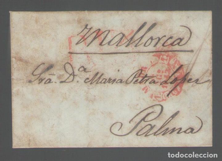 NUMULITE A3030 CARTA DE MADRID A MALLORCA 1842 3 PÁGINAS (Coleccionismo - Documentos - Manuscritos)