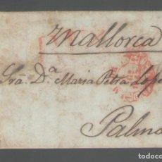 Manuscritos antiguos: NUMULITE A3030 CARTA DE MADRID A MALLORCA 1842 3 PÁGINAS . Lote 123558939