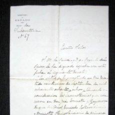 Manuscritos antiguos: AÑO 1898. MADRID, PALACIO. DECRETO REINA, DON ALFONSO XIII NOMBRANDO VOCAL DE LA JUNTA. TOISÓN ORO. Lote 124546799