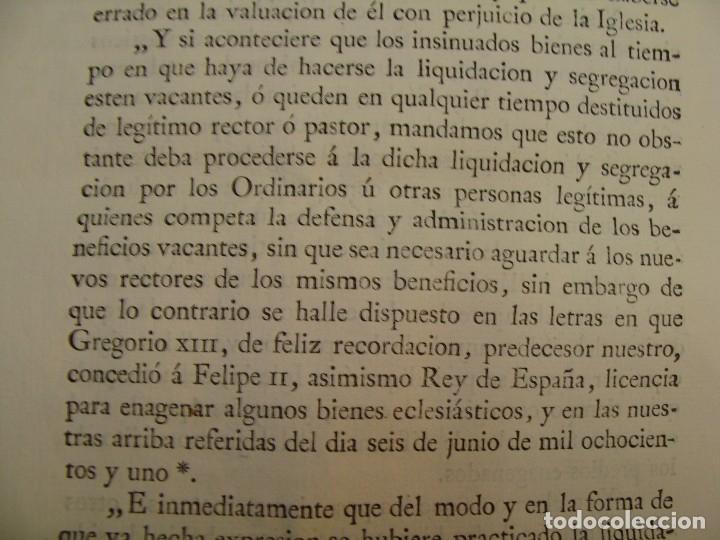 Manuscritos antiguos: MUY RARO. DESAMORTIZACIÓN 1808. VILLA DE AMBEL. LEANDRO FERNANDEZ MORATIN. ALBETA. ZARAGOZA - Foto 11 - 125419211