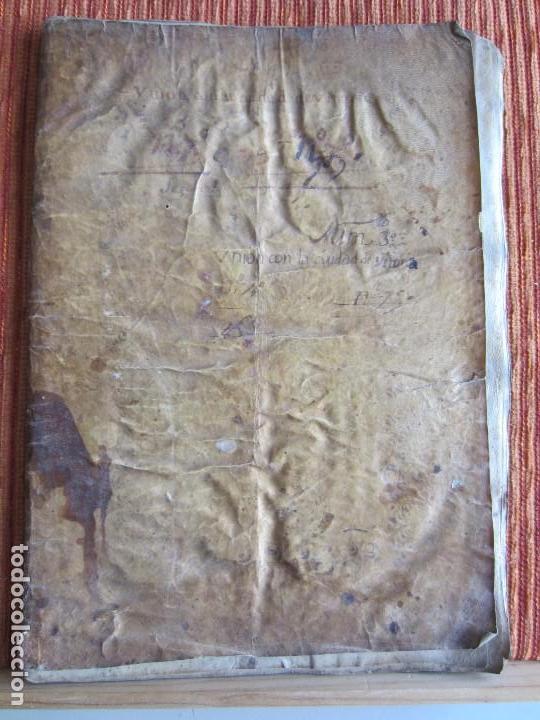 Manuscritos antiguos: 1633-CARTA DE UNIÓN DE LA VILLA DE BERNEDO CON LA CIUDAD DE VITORIA.ÚNICO.COMPLETO EN PERGAMINO. - Foto 2 - 125906095