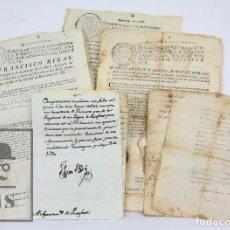Manuscritos antiguos: CONJUNTO DE ANTIGUOS MANUSCRITOS EN CATALÁN Y CASTELLANO- AYUNTAMIENTO PERAFORT- SIGLOS XVII Y XVIII. Lote 126025283