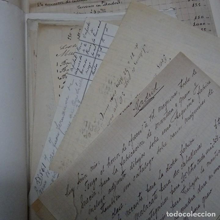 Manuscritos antiguos: MANUSCRITO GASTOS CONSTRUCCION CASETA MARQUES DE CASTRILLO CALLE FERNANDO EL SANTO MADRID - Foto 5 - 126644975