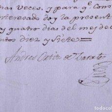 Manuscritos antiguos: EPOCA NAPOLEONICA, EL PASTOR DE LA SERRANIA DE RONDA, ANDRES ORTIZ DE ZARATE 1817. Lote 126864555