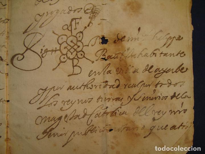 AYERBE (HUESCA). 1744. DOTE POR CASAR HIJAS. (Coleccionismo - Documentos - Manuscritos)