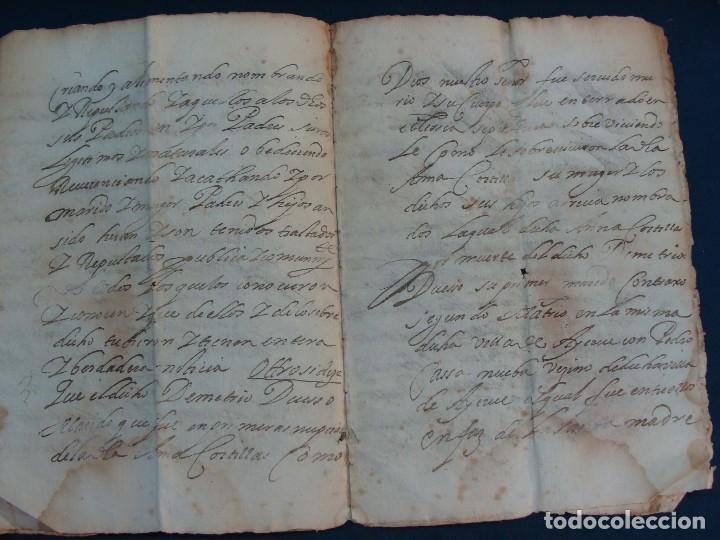 Manuscritos antiguos: AYERBE (HUESCA). 1744. DOTE POR CASAR HIJAS. - Foto 7 - 126981287