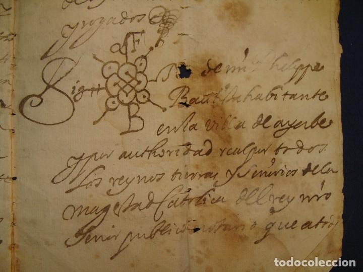 Manuscritos antiguos: AYERBE (HUESCA). 1744. DOTE POR CASAR HIJAS. - Foto 10 - 126981287