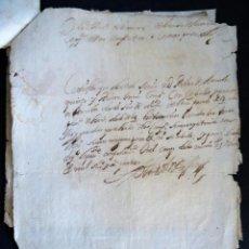 Manuscritos antiguos: GALICIA.CAMPO DE LOS MEDOS.COMPAÑIA CABALLOS CORAZA.PEDRO DE ARMESTO QUIROGA. 1664. Lote 128010319