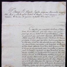 Manuscritos antiguos: REGIDOR PERPETUO. BURGOS. AÑO: 1883. SOLDADO REGIMIENTO CABALLERÍA DEL PRÍNCIPE TERCERO DE LINEA. Lote 128030351